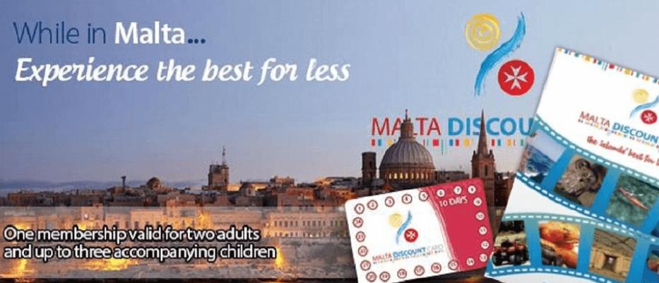 כרטיס הנחות תיירים במלטה