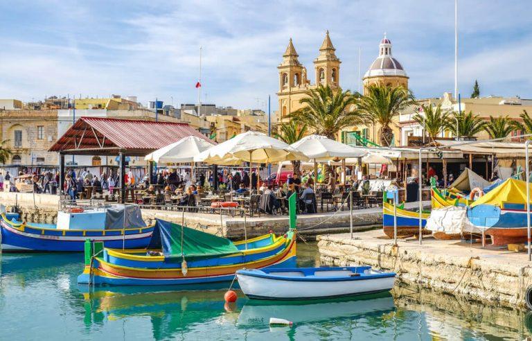 Marsaxlokk, Malta, old fisherman village